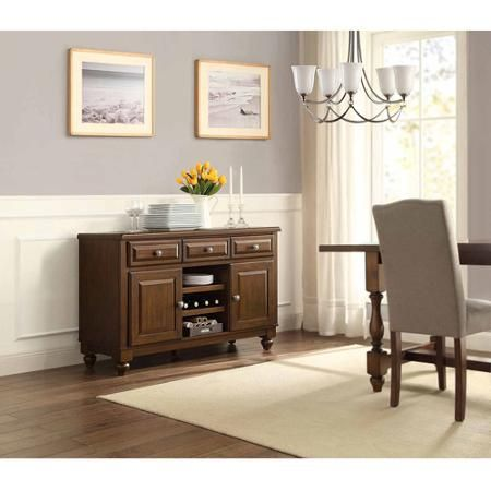 Providence Dining Buffet Table Media Console For Tvs Up To 55 Walmart Com Home Entertainment Furniture Home Dining Buffet