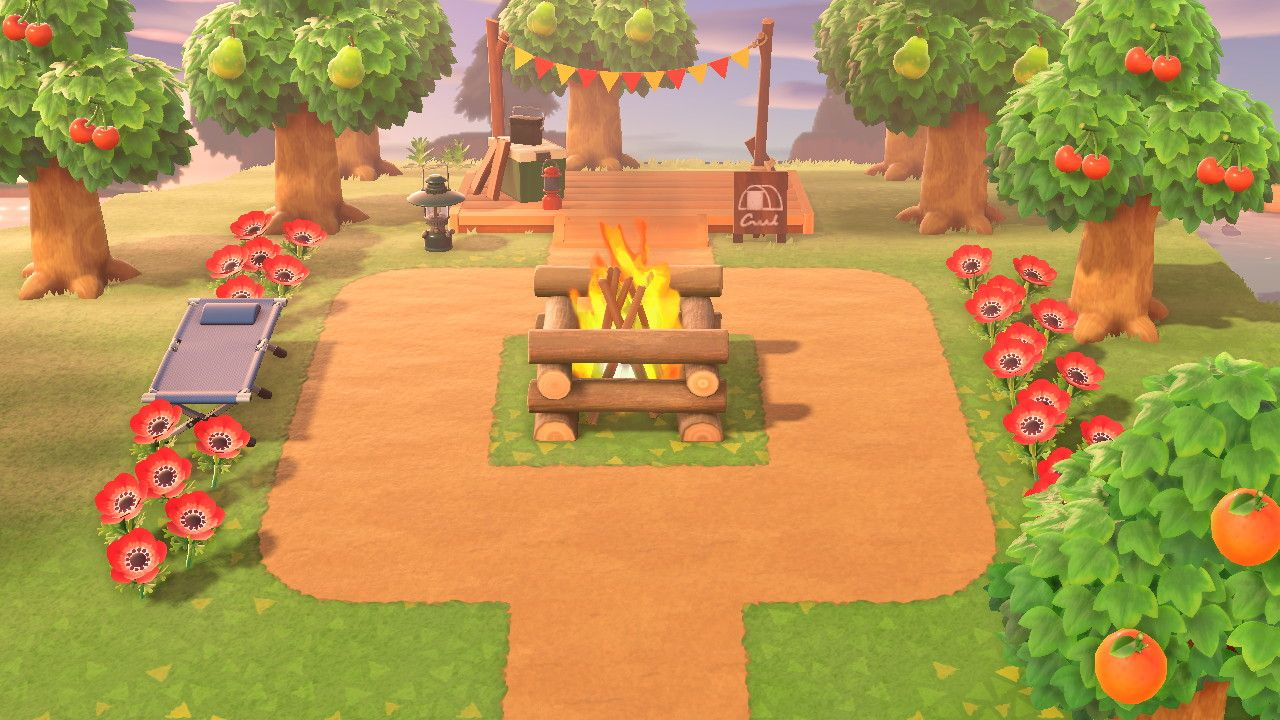 Animal Crossing New Horizons Camp Site Animal Crossing New Animal Crossing Animal Crossing Memes
