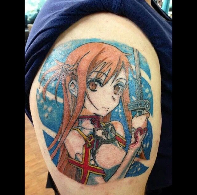 Tattoo Designs Online: Sword Art Online - Anime Tattoo - Anime Art...
