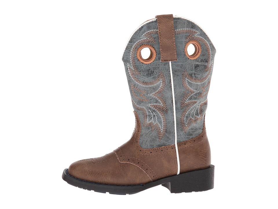 5c86d8c9e67 Roper Kids Daniel (Toddler/Little Kid) Cowboy Boots Brown Faux Vamp ...
