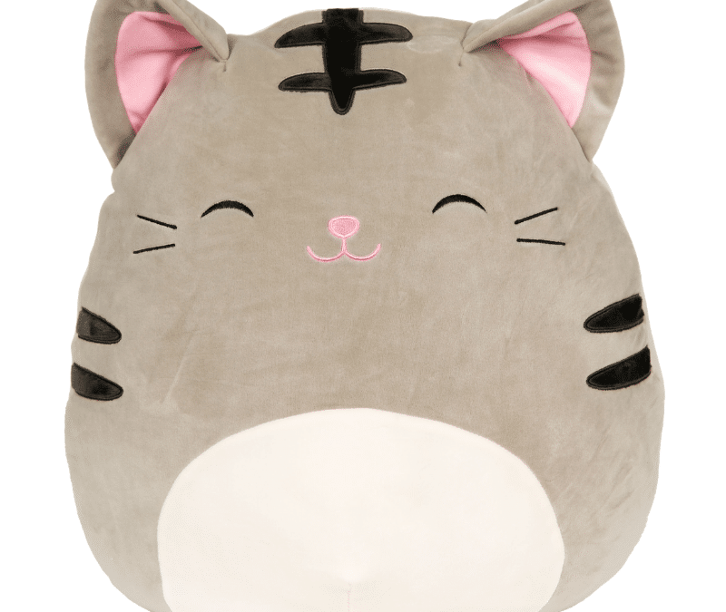 Squishmallows Tally The Cat Grey Tabby Cats Grey Cats Animal Pillows