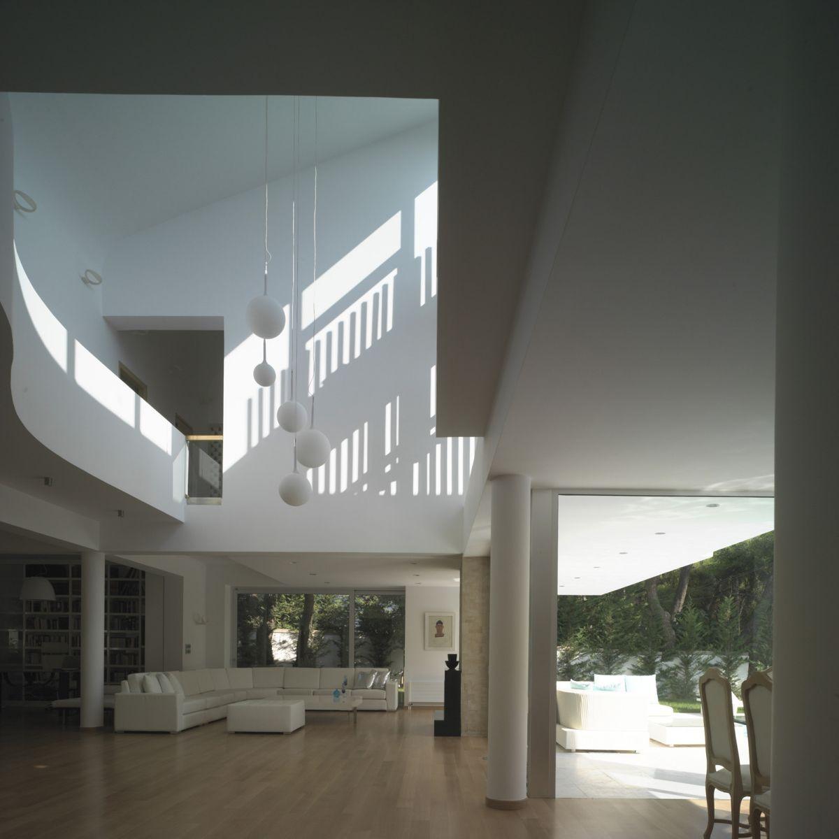 MODERN HOME INTERIORS | modern contemporary greek house interior ...