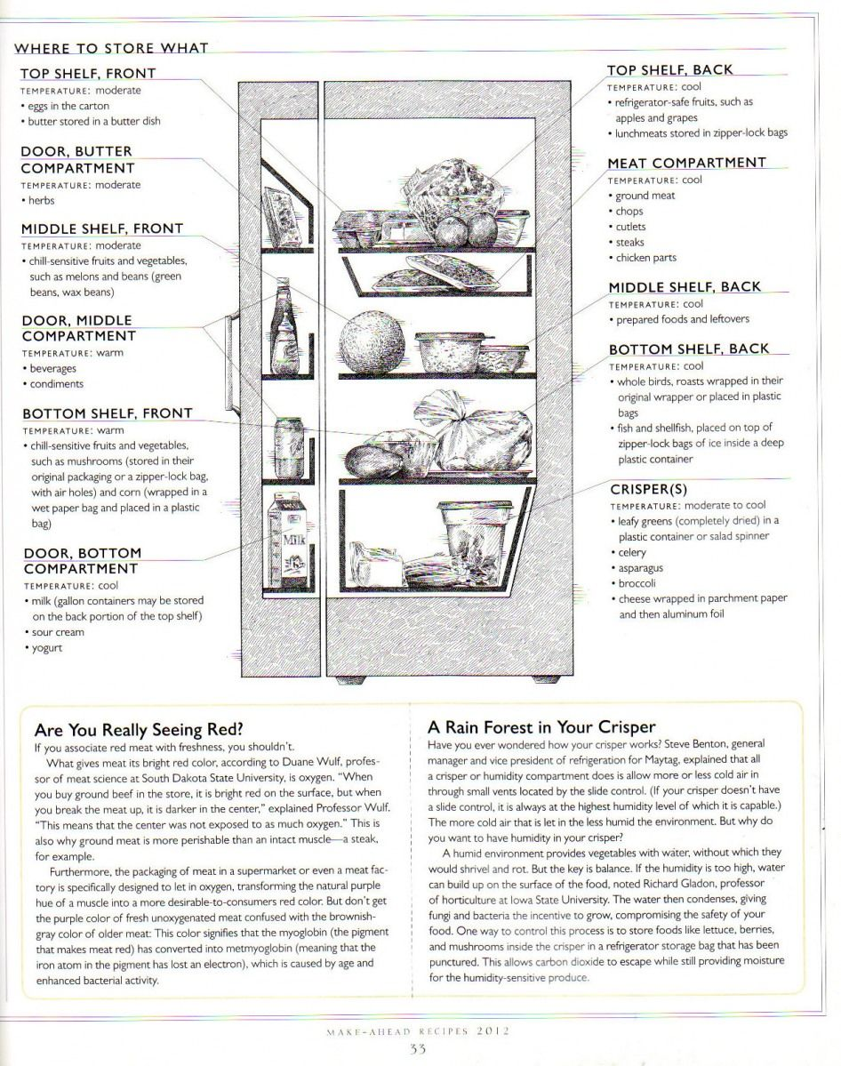 refrigerator diagram great to know where to store what in your fridge [ 946 x 1199 Pixel ]