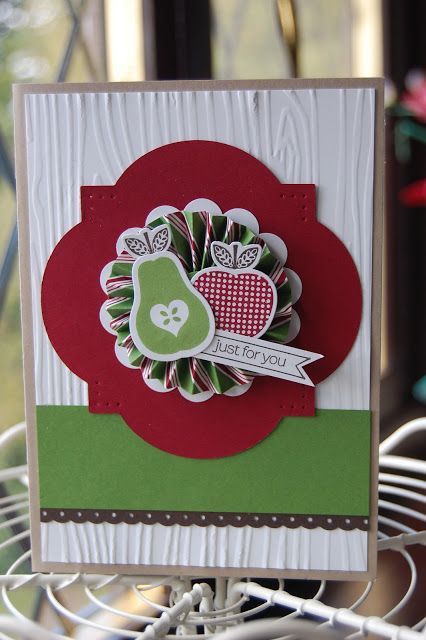 Thursday, September 27, 2012 Stampin'spiration: Preserved with a Wrap!