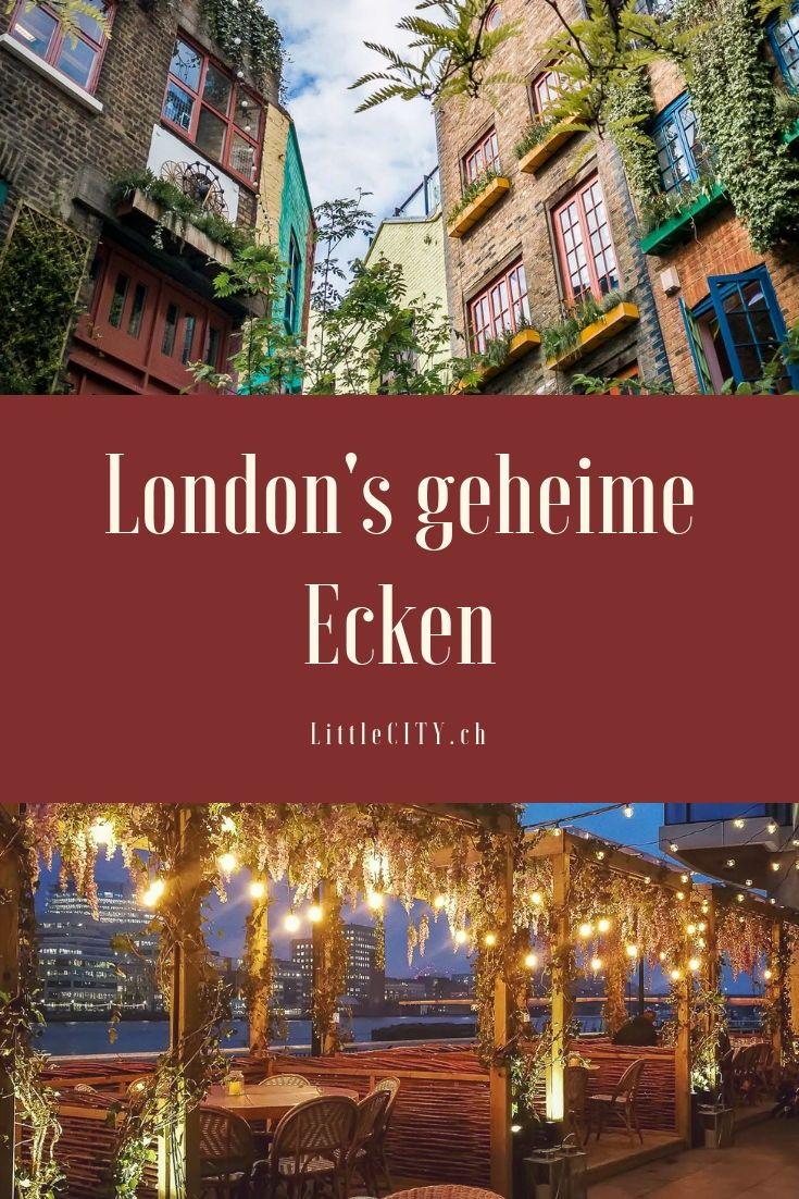 London Insidertipps: 16 geheime Ecken die nicht jeder kennt #travelengland