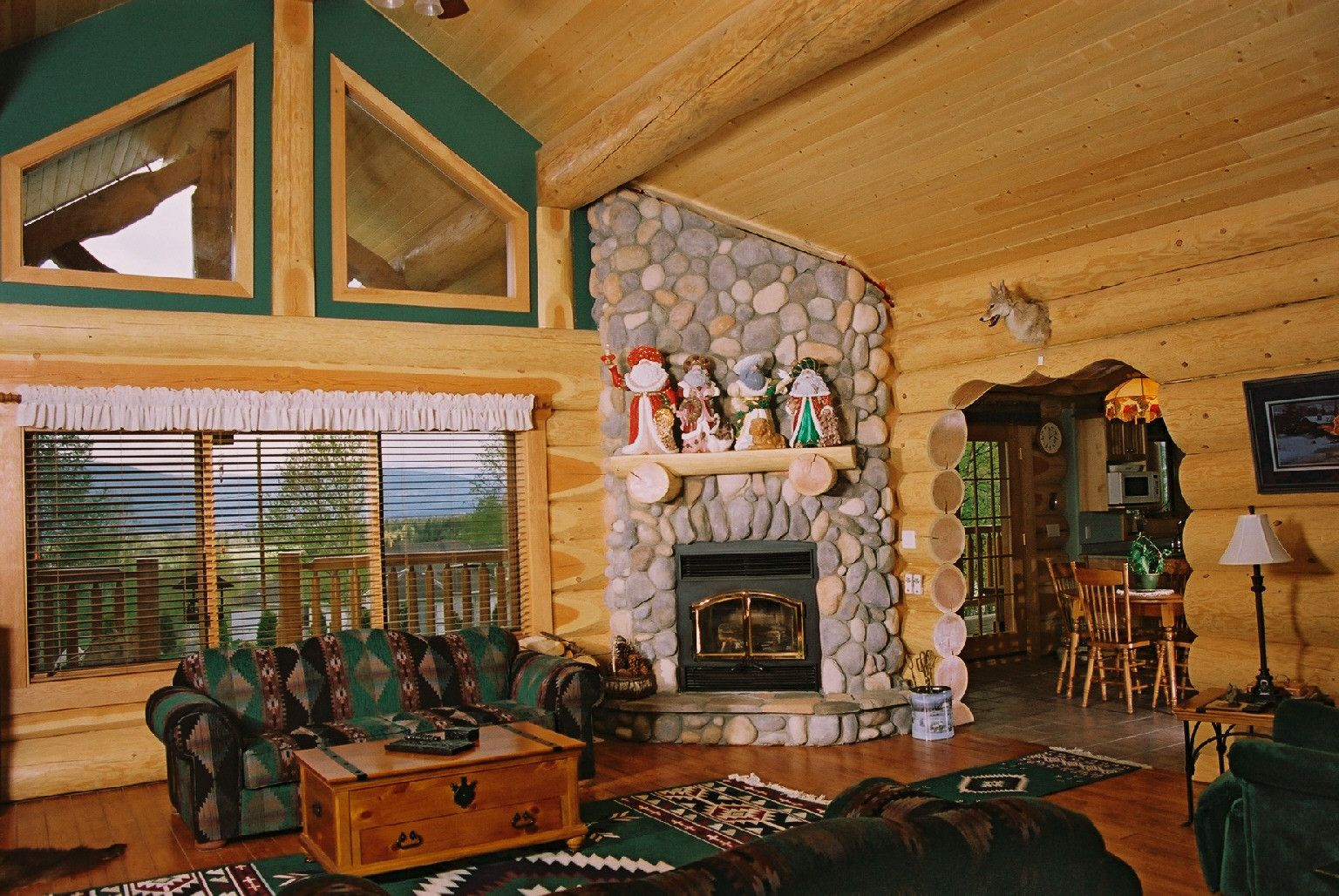 luxury log home plans for bold natural image elegant stone fireplace luxury log home plans classic design ideas equipped with stone fireplace design on - Log House Plans With Interior Photos