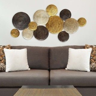 For Stratton Home Decor Multi Circles Wall Get Free Shipping At Your Online Outlet 5 In Rewards With Club