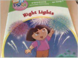 nick jr dora the explorer night lights book 8 igh as long i