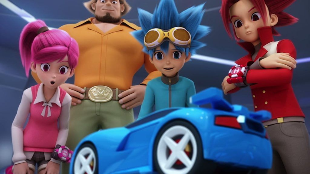 A Gearhead S Review Of Power Battle Watch Car Animated Show