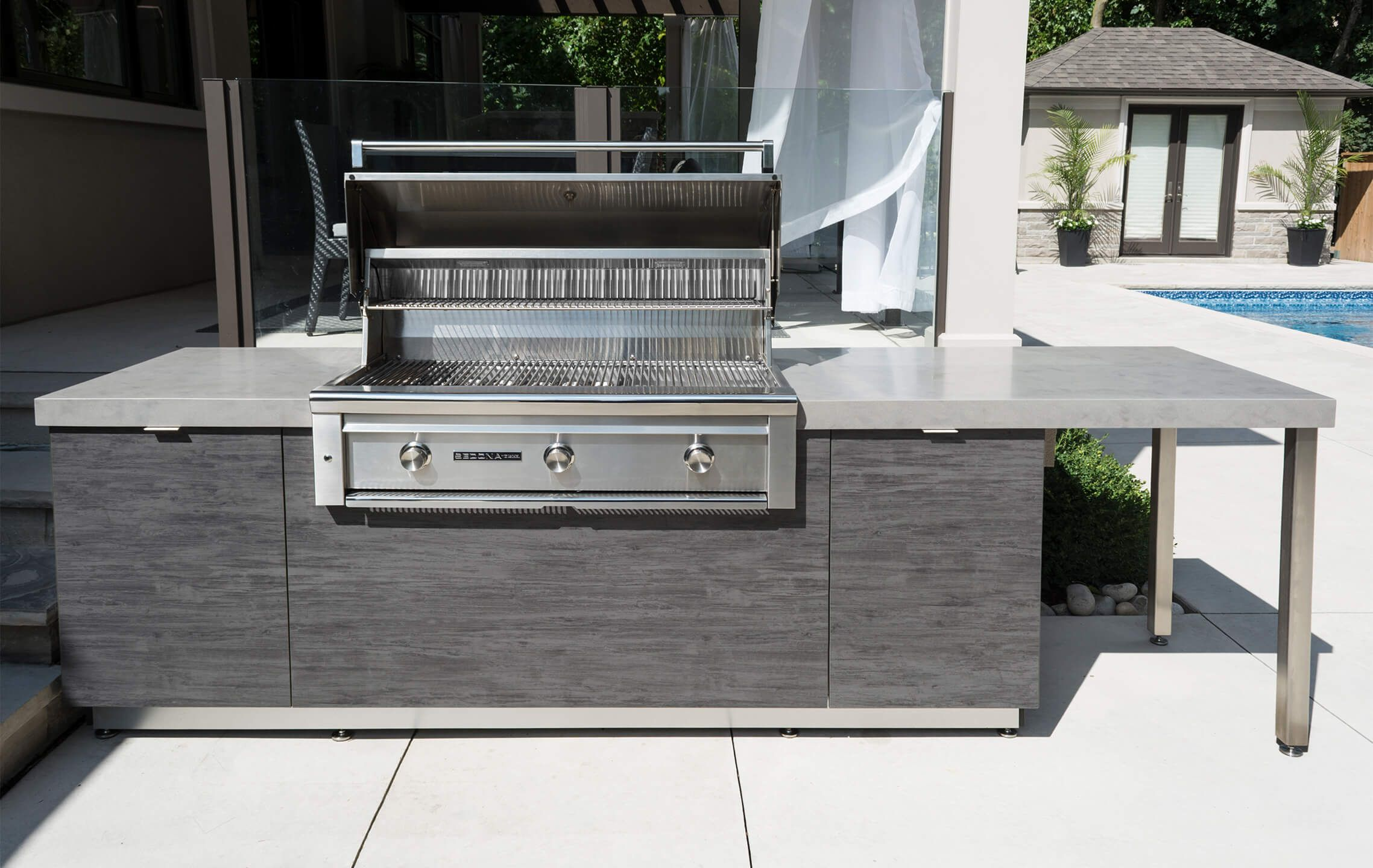 Lynx Sedona 42 Built In Gas Grill Outdoor Kitchen Equipment