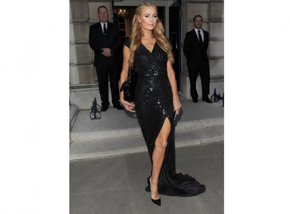 ¡Nunca pierde el estilo! Paris Hilton en una de las celebraciones preboda de su hermana Nicky