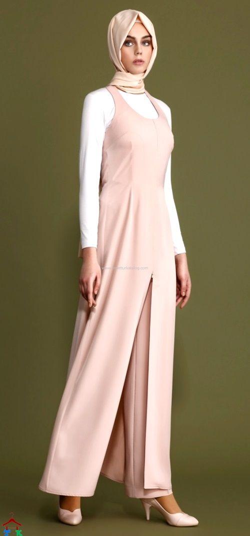 Tulum Görünümlü Tesettür Elbise | a office | Pinterest | Costura