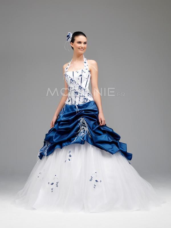 Robe de mariée sur mesure en couleur http: