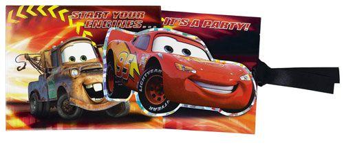 Disney Cars Prismatio Party Invitations 8pk
