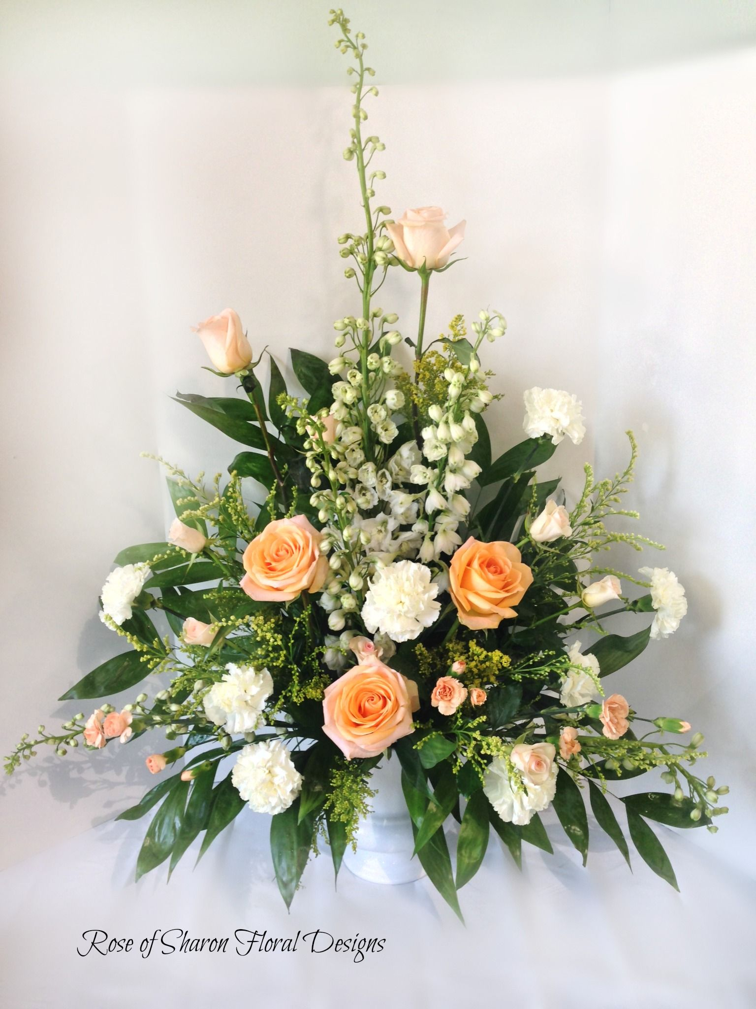 Rose Of Sharon Floral Designs Sympathy Tribute Bukiety
