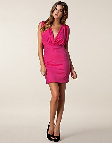 Gabby Bodycon Dress - Hedonia - Cerise - Party dresses - Clothing - NELLY.COM Fashion on the net