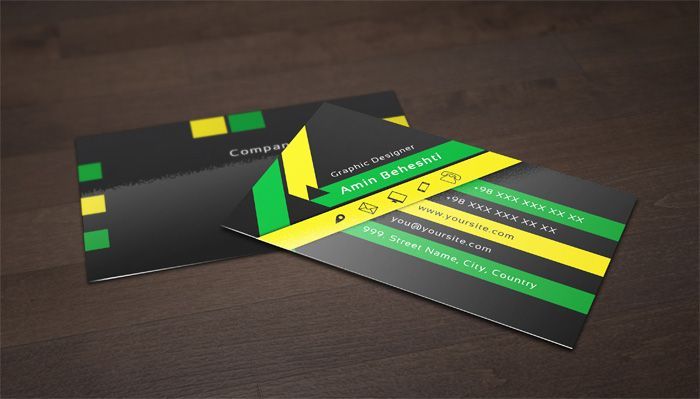 Print ready black business card template business cards print ready black business card template business card psd black accmission Images