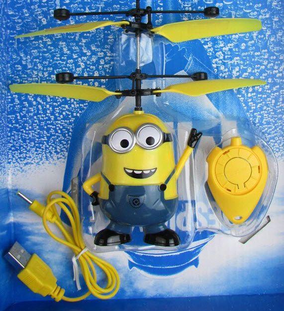 Летающие миньоны - детская игрушка.