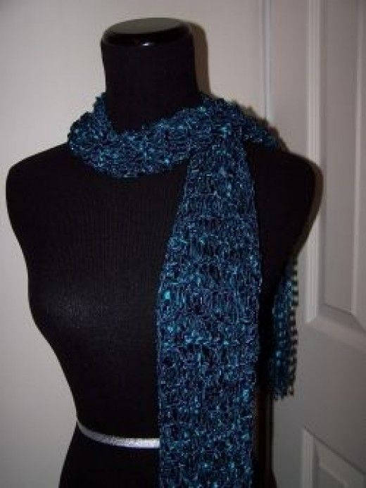 Knitting with Ladder Yarn (With images)   Yarn ribbon and ...