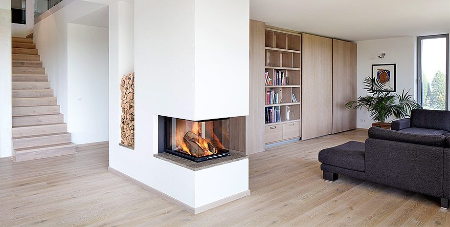Uberlegen Wohnzimmer Mit Kamin Modern Erstaunliche | Hause Design Ideen