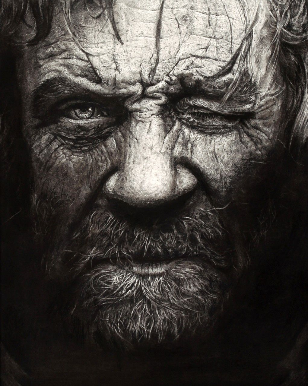 academyofartu:#PicOfTheWeek: This captivating portrait was created by Academy's Minjin Park!