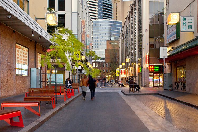 High Quality URBAN: Chinatown Public Domain Upgrades, Sidney By Aspect Studio