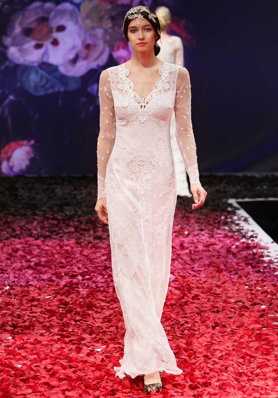 Lace wedding dress designers  Claire Pettibone  Couture Bridal l Wedding Dresses Bridal Gowns