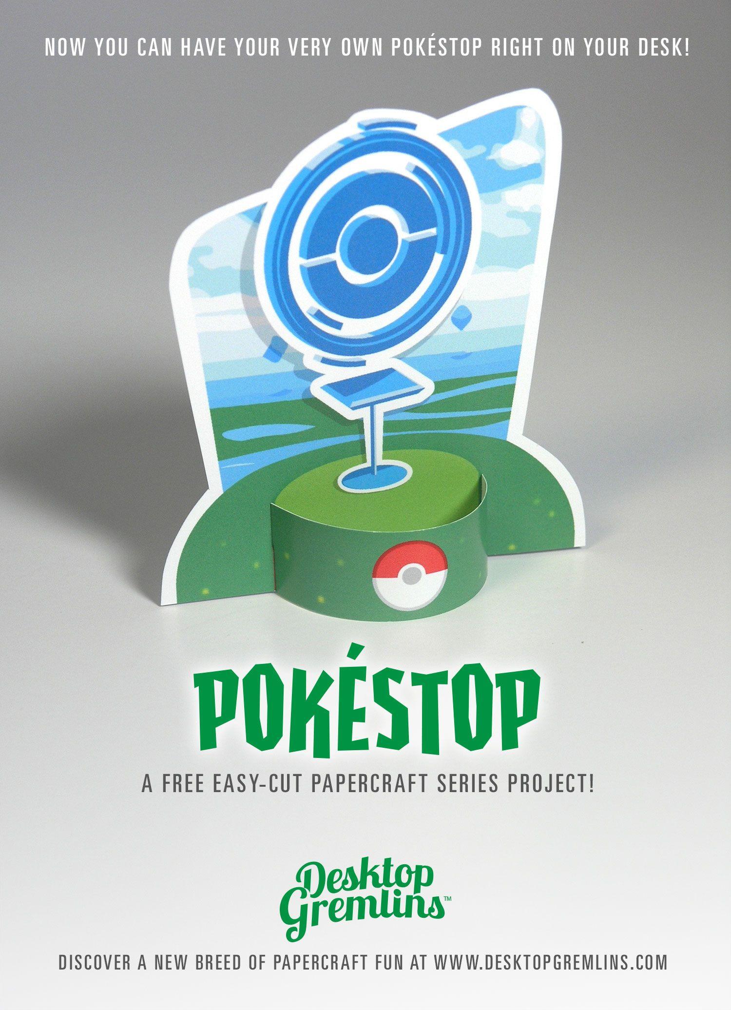 pokemongo free papercraft available at desktop gremlins