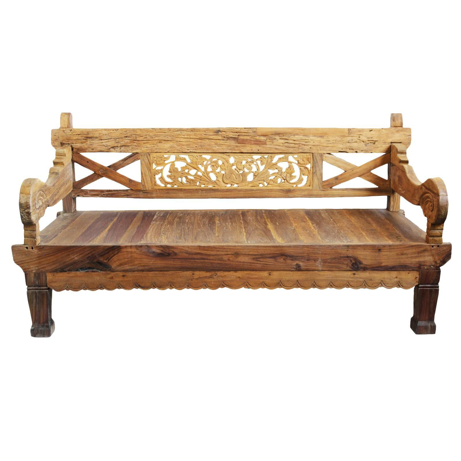 Rustic Teak Daybed Image 1 Of 3