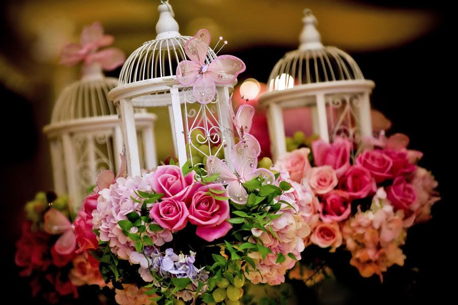 Bird Cages As Wedding Centerpieces Google Search Craft Rooms