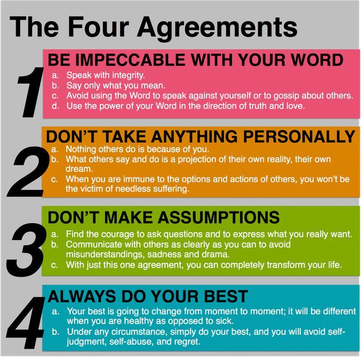 The Four Agreements Simple And Stoic Stoicism Scheduled Via
