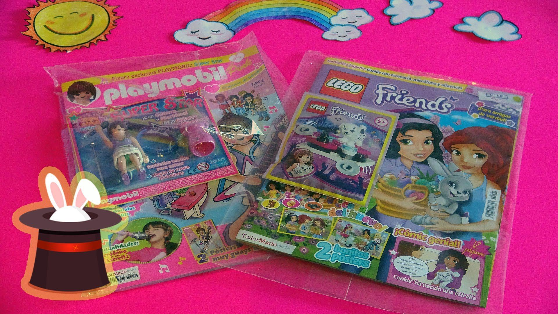 Unboxing Y De Revistas FriendsJuguetes Playmobil Lego Pink f7v6ybgY