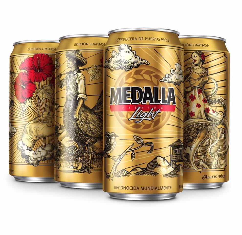 La cerveza MedallaLight celebra sus 40 años revistiendo