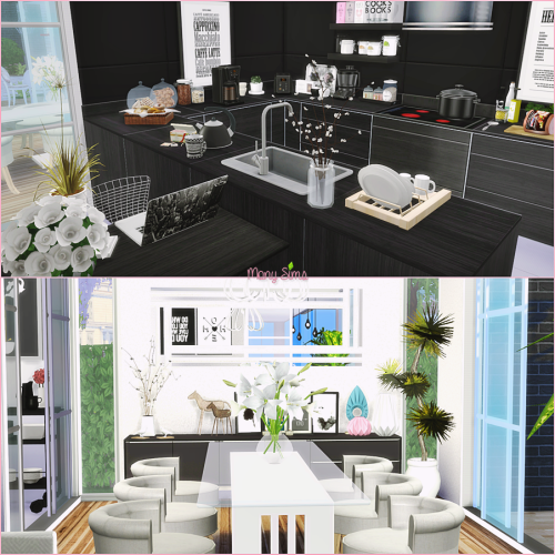 Sims cc   the best house by monysims also brims breams rh pinterest