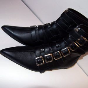 b9b78abca286a Goth Pikes Winklepickers x6 buckle Classic boots Goth Gothic Batcave ...