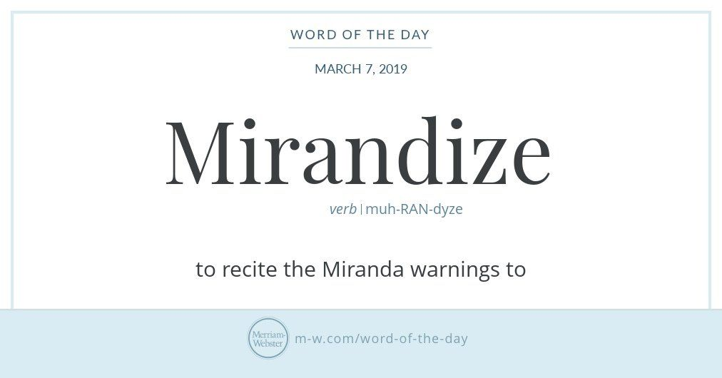Merriam Webster Merriamwebster Twitter Word Of The