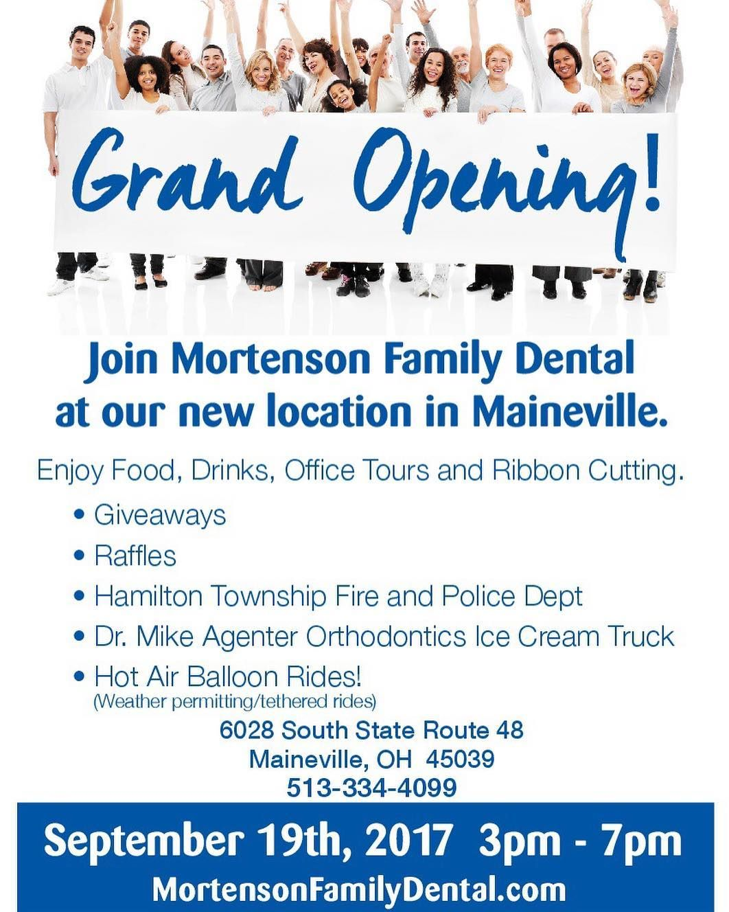 We Hope To See You On September 18th For Our Grand Opening