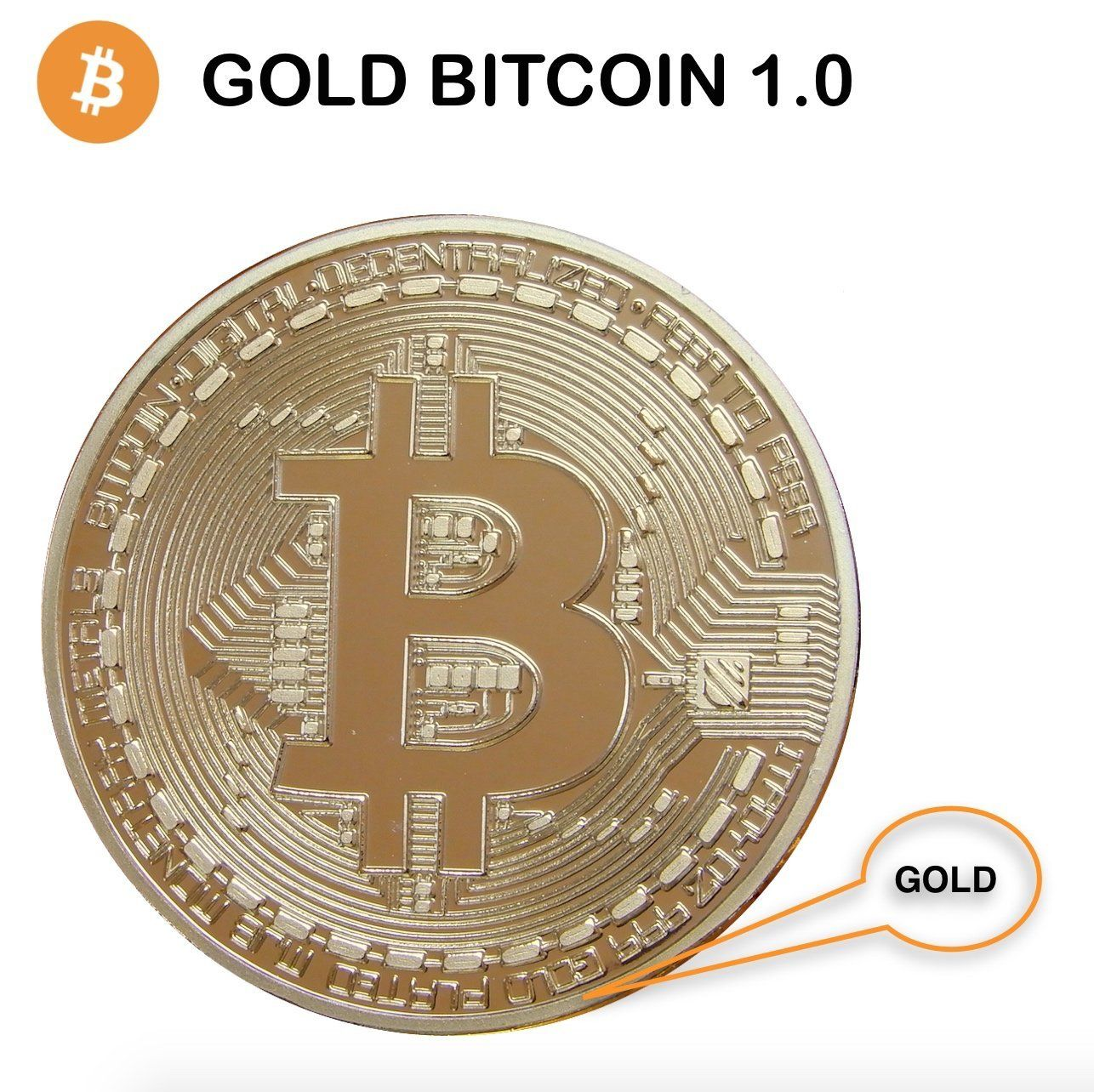 Gold Bitcoin Toys & Games (With images