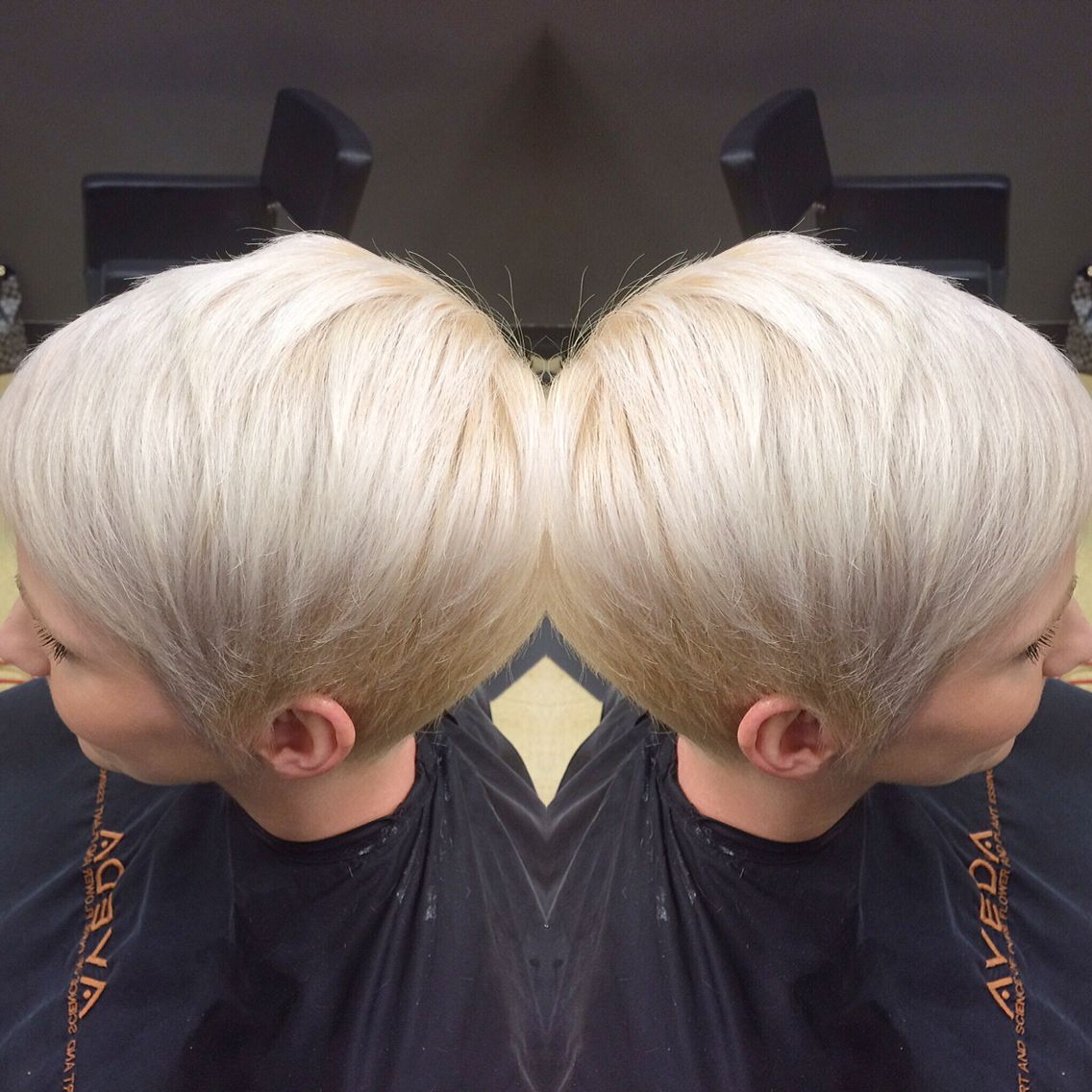 Did a silver pixie the other day love bringing out the inner ice