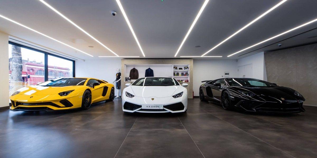 Lamborghini Showroom South Kensington Lamborghini Showroom Car