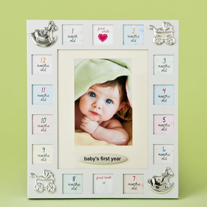 Magnificent First Year Collage Picture Frame | Frames | Pinterest ...
