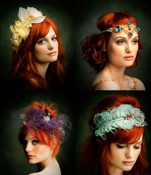 cute hair accessories | hair | Bride hair