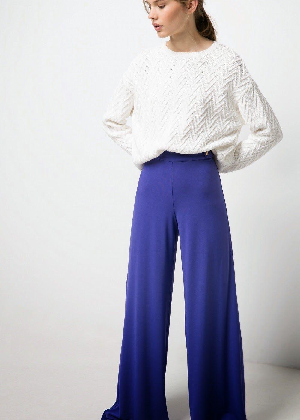Resultado de imagen para pantalones palazzo | traje evento ...