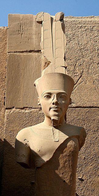 Karnak - Bust of Tutankhamun ,Egypt