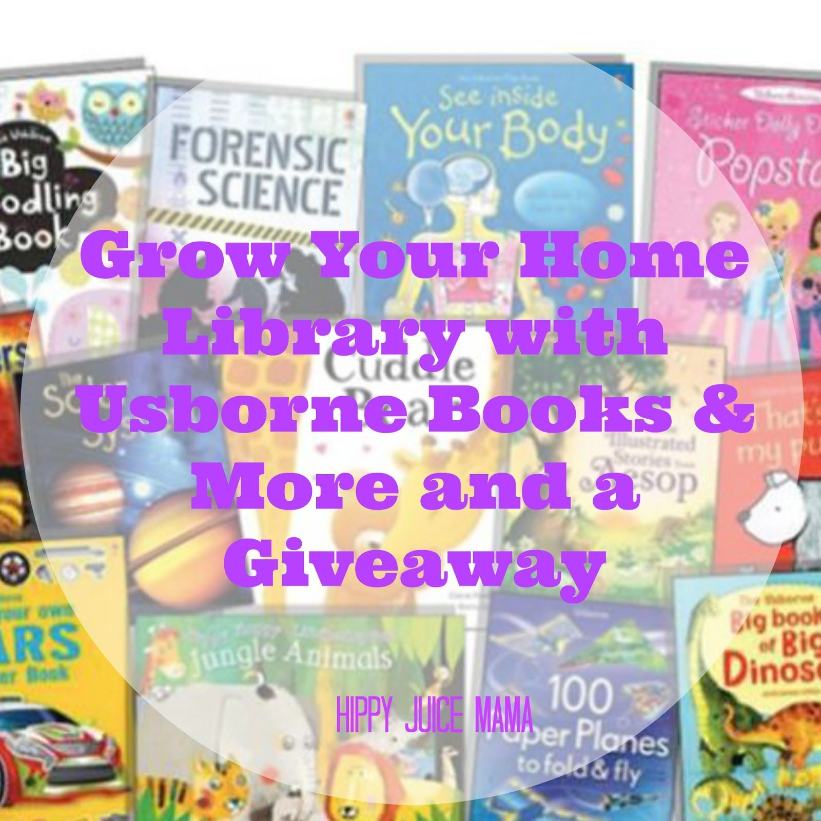 Grow your home library with usborne books more and a