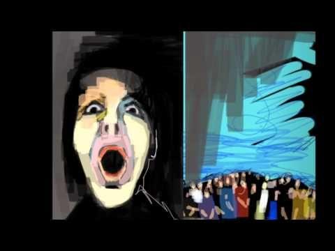 Richard Tassé has done a brief presentation of digital drawings of artist Nadia Nadege - portraits and self-portraits