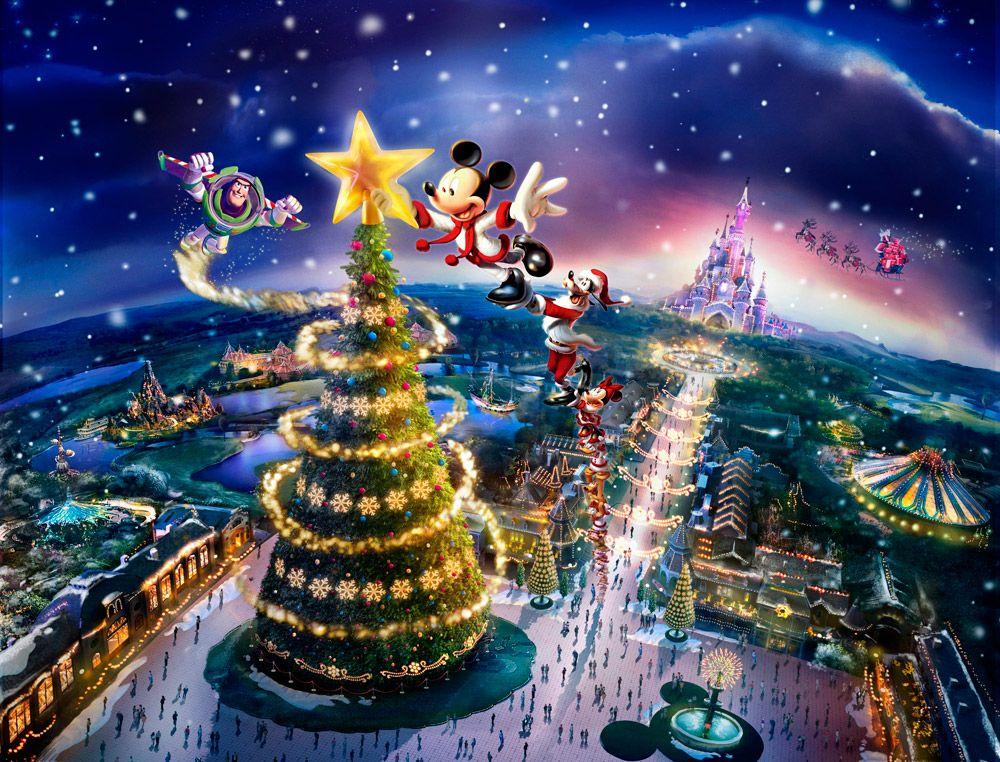 disneyland christmas Disneyland Christmas wallpaper 2012
