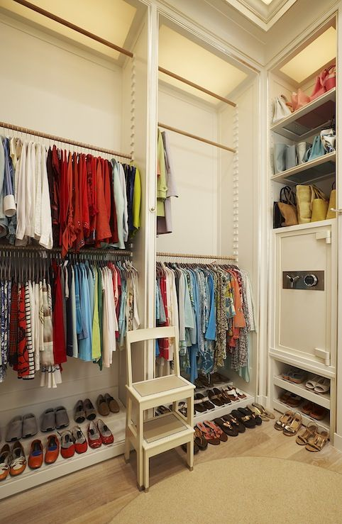 Put Off Season Clothes On Top Rungs And In Season Clothes On The Lower · Closet  RodMaster ...