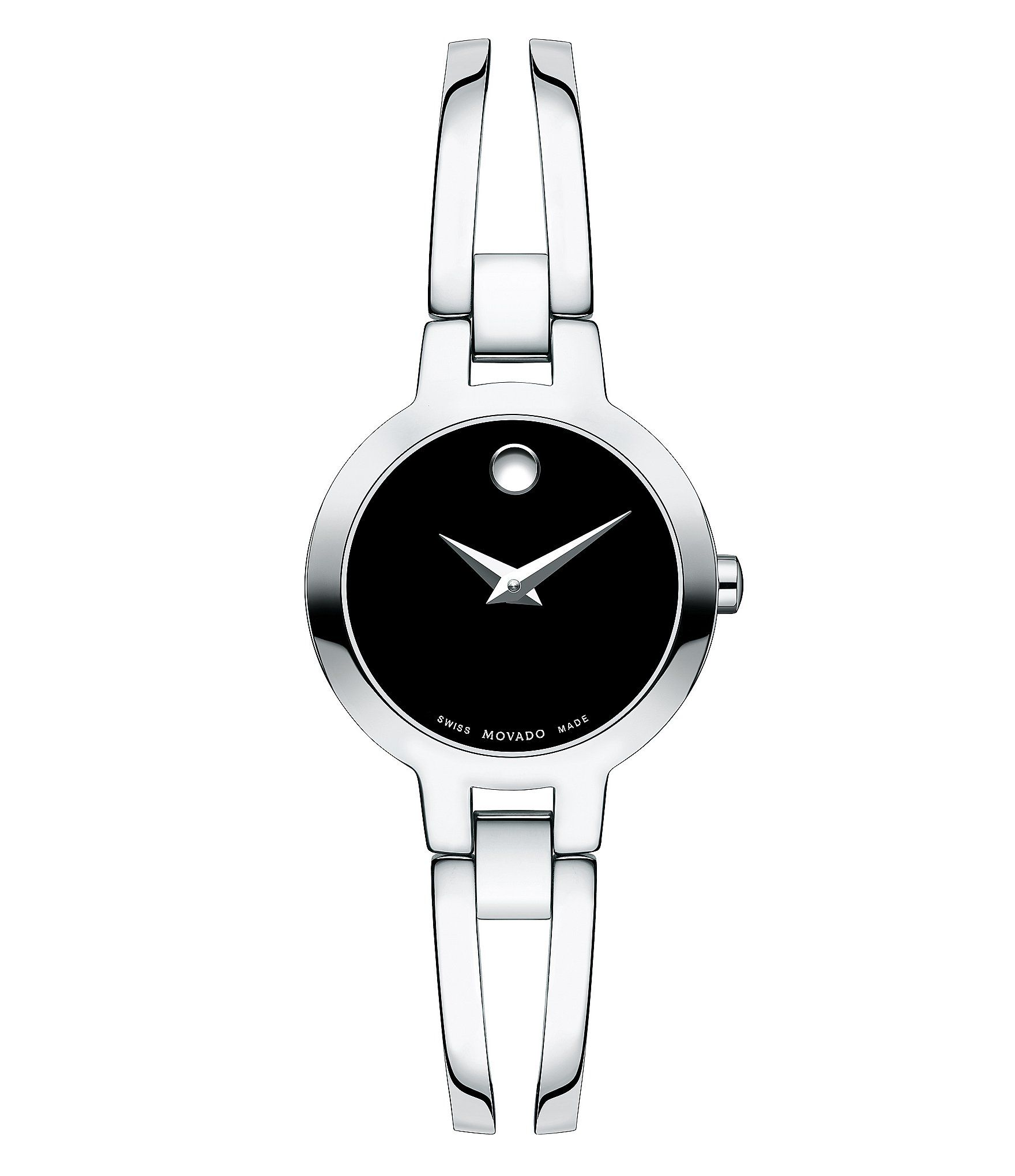 Movado Double Bar Bangle Style Amorosa Watch | Dillard's
