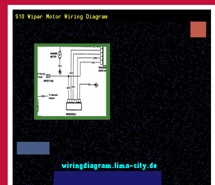 S10 Wiper Motor Wiring Diagram  Wiring Diagram 17536